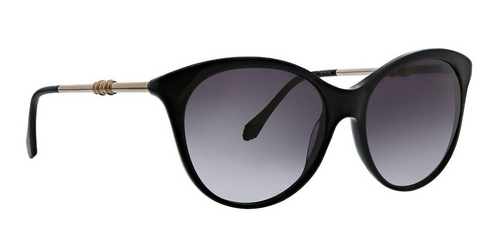 Black Issie Sunglasses Front Angle
