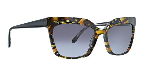 Black Lana Sunglasses Front Angle