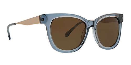 Blue Cherie Sunglasses Front Angle