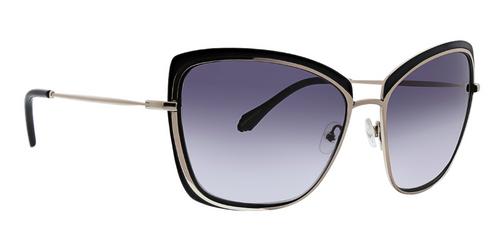 Black Lyla Sunglasses Front Angle