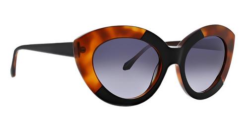 Black Joli Sunglasses Front Angle