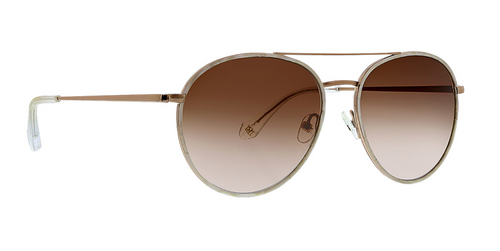 Ivory Arlette Sunglasses Front Angle