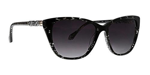 Black Elsa Sunglasses Front Angle
