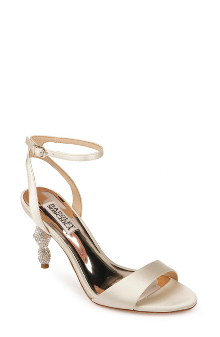Ivory Evamarie Ankle Strap Evening Shoe Front