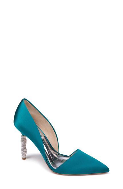 Emerald Emily Embellished Heel D' Orsay Side Angle