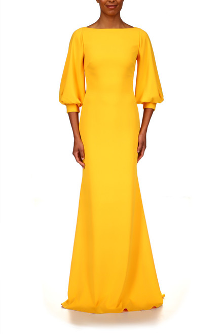 Marigold Gown Front