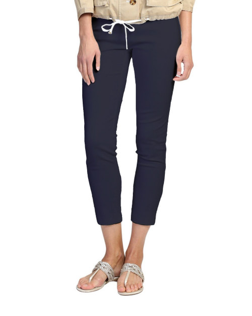 Navy Pocket Pants Front
