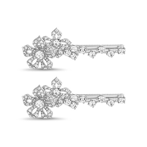 Floral Statement Bobby Pins