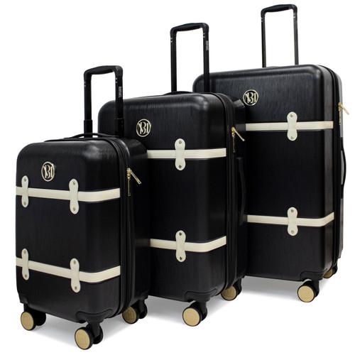 Black Grace Luggage Set