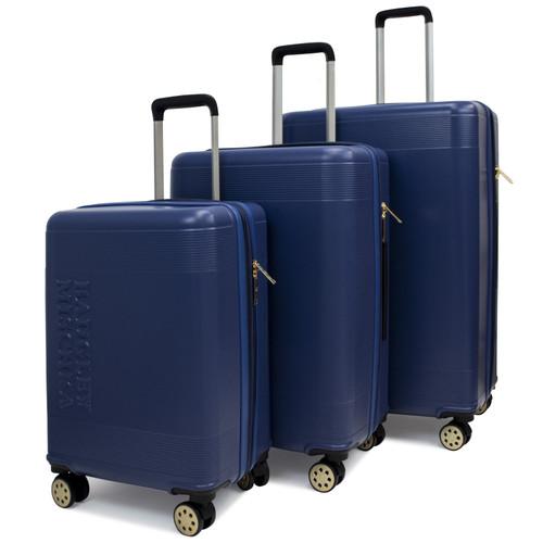 Navy Elizabeth Luggage Set