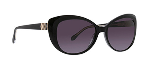 Black Bella Sunglasses Front Side