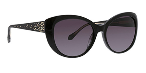Black Charlina Sunglasses Front Side