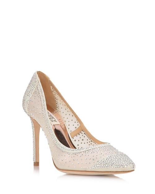 Ivory Weslee Crystal Embellished Evening Shoe