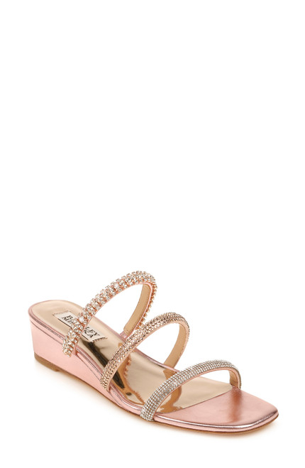 Rose Zofia Slide On Wedge Sandal Front