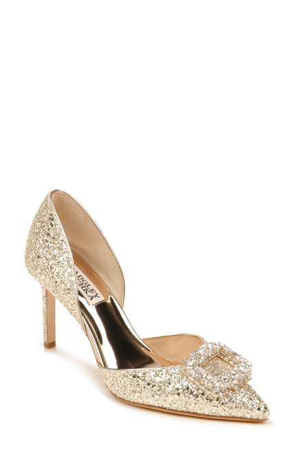 Platino Gaiana Pointed Toe D'Orsay Front