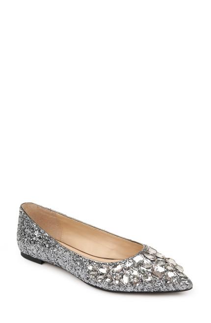 Smoke Glitter Ulanni Diamond Glitter Flat Front