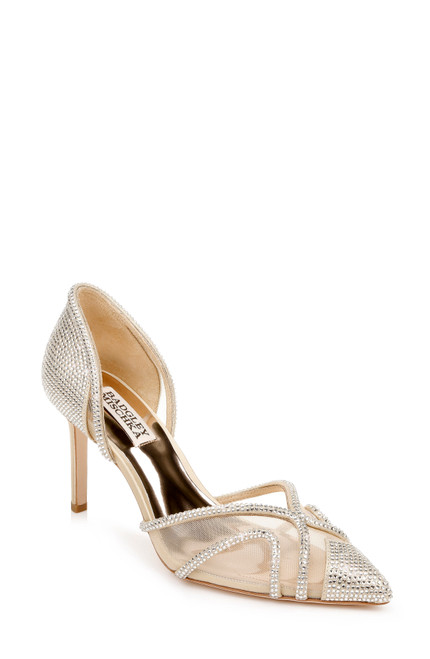 Platino Haze Pointed Toe D'Orsay Front
