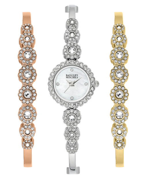 Crystal Bangle and Watch Tio Front