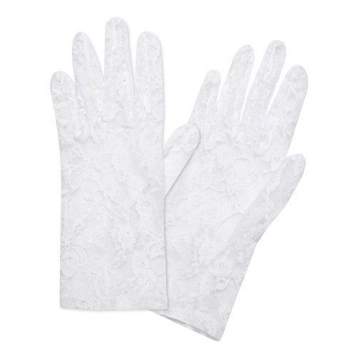 White Lace Glove