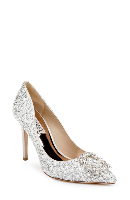 Ivory Cher II Sparkling Stiletto - Front Angle