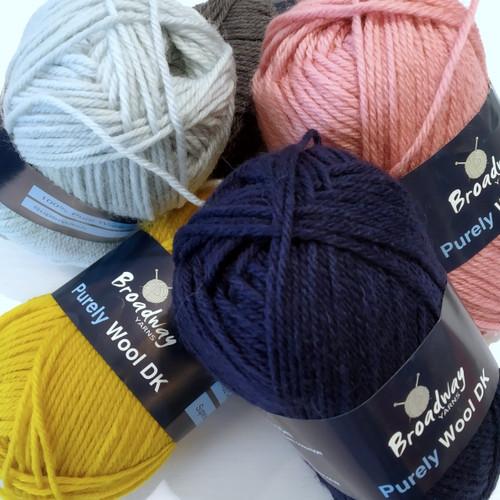 Broadway Yarns: Purely wool DK