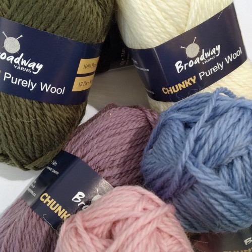 Broadway yarns: Purely Wool Chunky