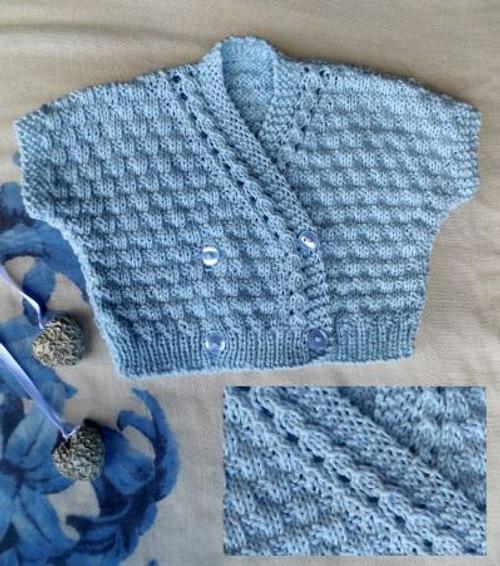 Countrywide: Soft Cotton Baby Bolero