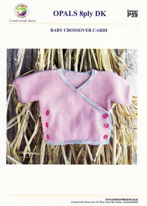 Countrywide: Baby Crossover Cardi