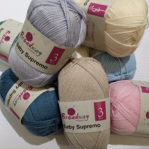 Broadway Yarns: Baby Supremo 3ply