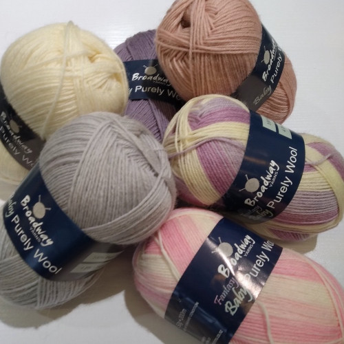 Broadway Yarns: Purely Baby 4ply