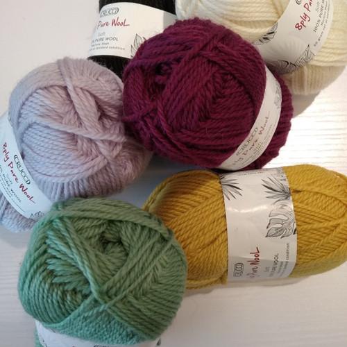 Crucci 8ply Soft M/Wash Pure wool