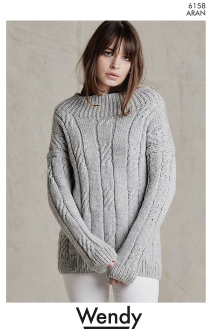 Wendy: Cable Sweater