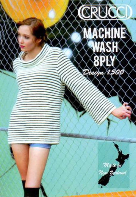 Crucci: Striped Sloppy Joe Jumper 1500