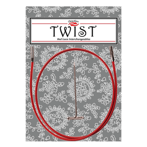 Chiaogoo: Twist Red Cables (S)