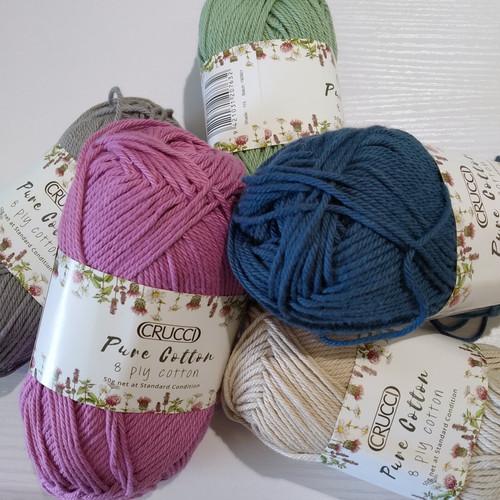 Crucci: Pure Cotton 8Ply