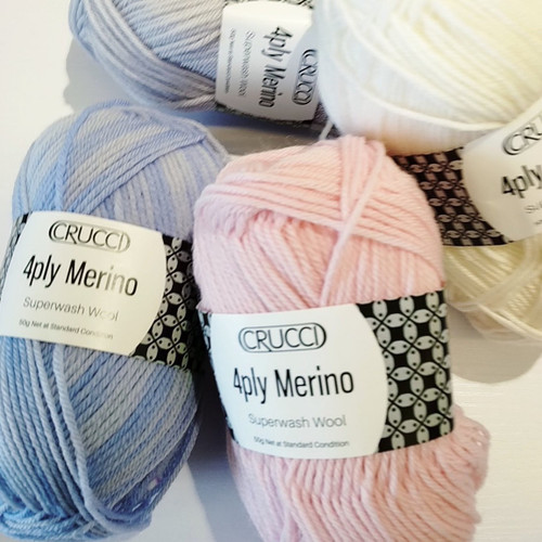 Crucci Merino Superwash 4ply