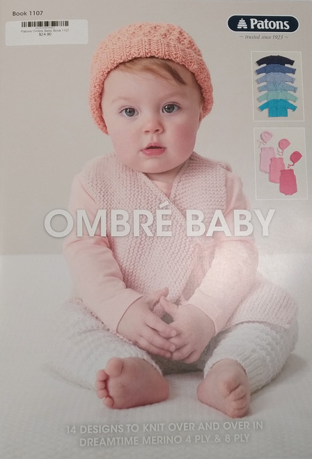 Patons Ombre Baby Book 1107