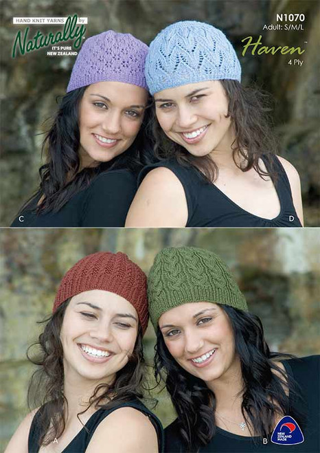 Naturally: Baby Haven Adult hats