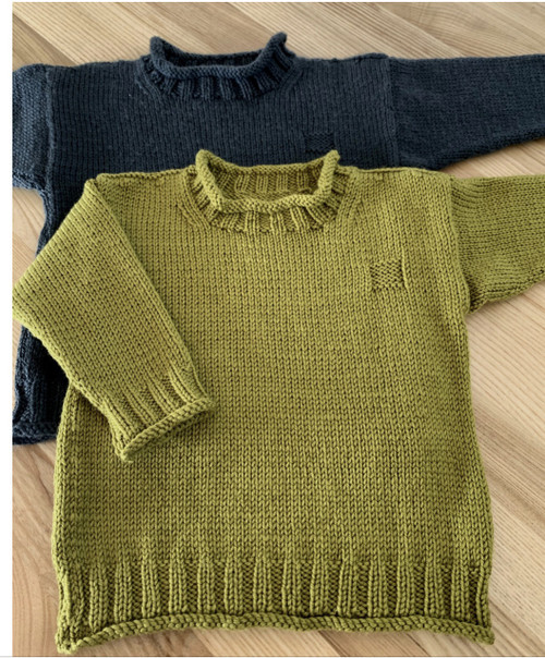 Touch Yarns: Rolled Edge Jumper
