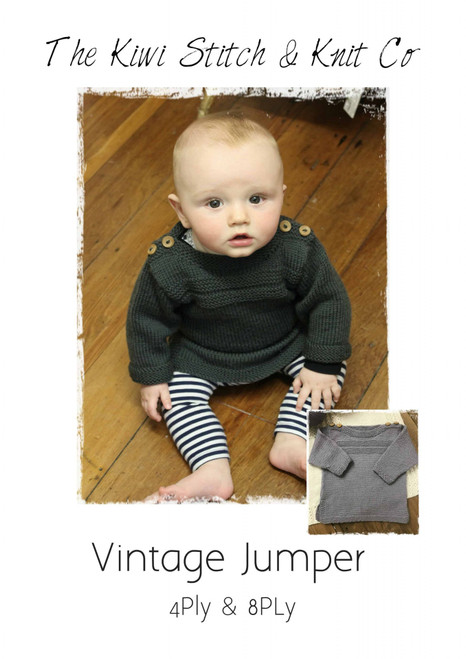 Touch yarns: Vintage child's Jumper