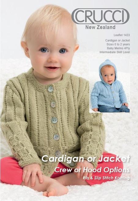 Crucci: Cardigan or Jacket - Crew or Hood options