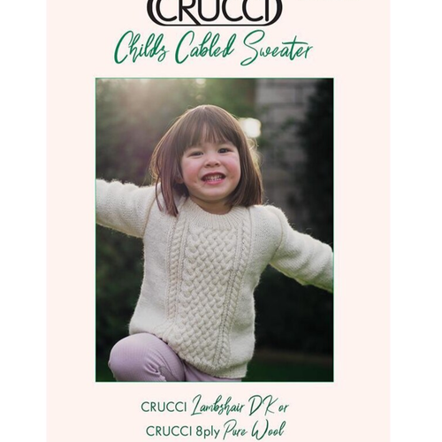 Crucci: Childs Cabled Sweater 2005