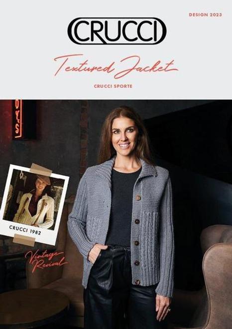 Crucci: Textured Jacket 2023