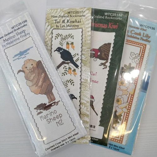 Craftco: NZ Bookmarks