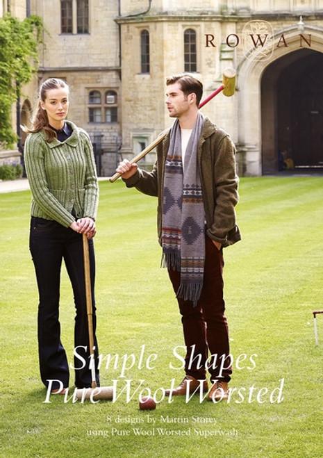 Rowan Yarn: Simple Shapes Worsted