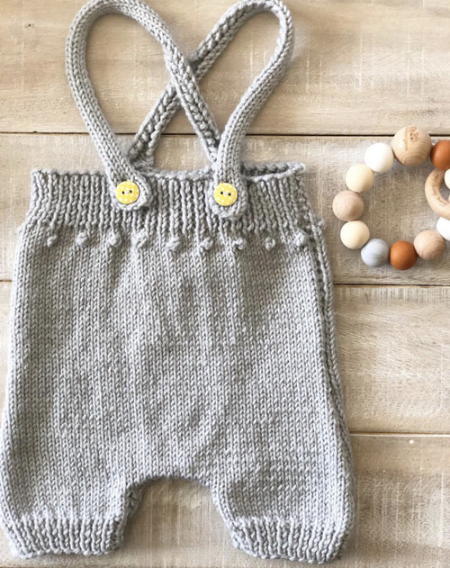 Touch Yarns: Popcorn Rompers