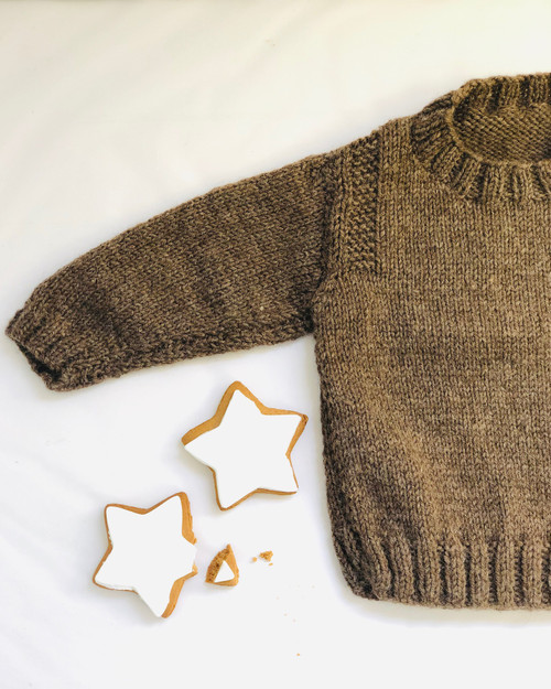 Touch Yarns: Guernsey Style Jumper