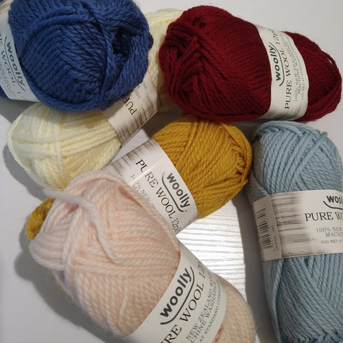 Woolly: 12ply Pure Wool Machine wash