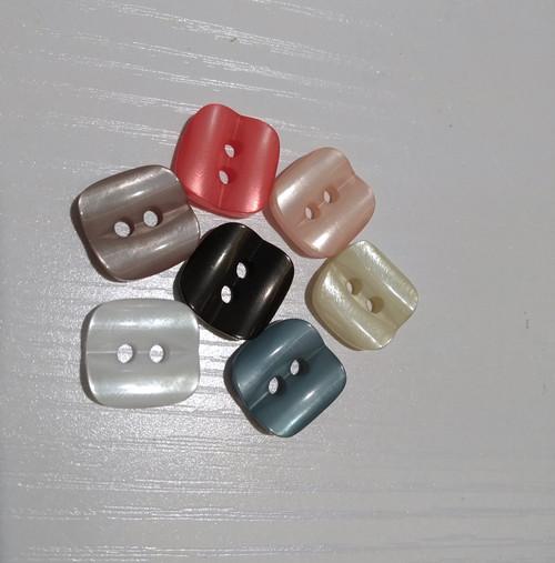 Abbey Buttons: 2 hole, Rowan Summerlite DK