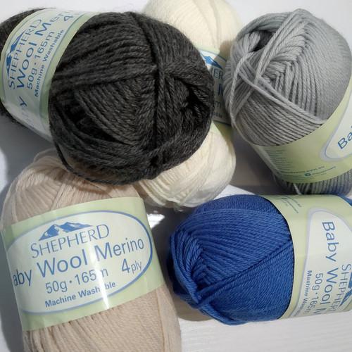 Shepherd Baby Wool Merino 4 ply 50g